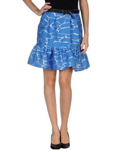JC DE CASTELBAJAC Knee Length Skirt in Azure