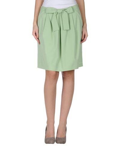 MOSCHINO CHEAP & CHIC Knee Length Skirt in Light Green