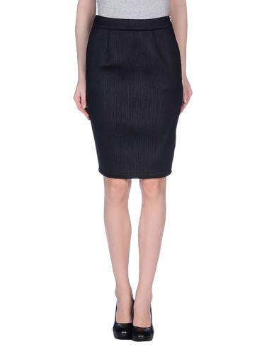 JC DE CASTELBAJAC Knee Length Skirt in Black
