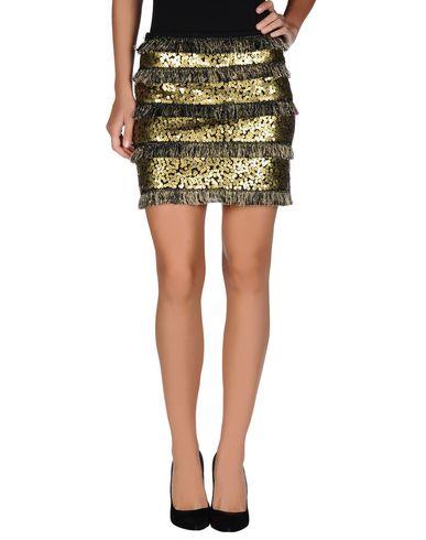 BEAYUKMUI Mini Skirt in Gold