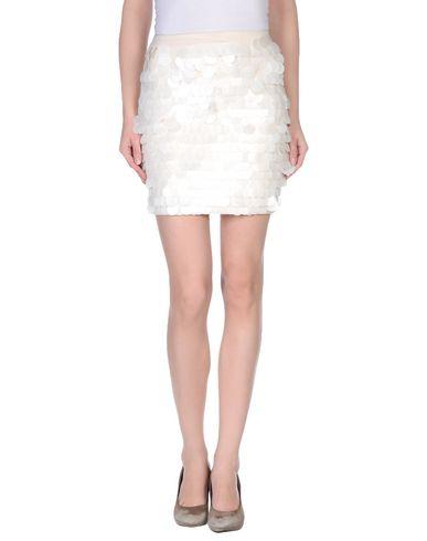 BEAYUKMUI Mini Skirt in Ivory