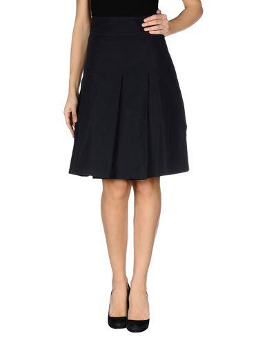 2bf3da3e474 Jil Sander Navy Knee Length Skirt - Women Jil Sander Navy Knee ...