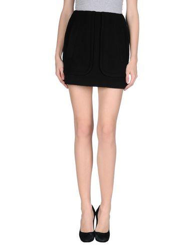 ANTIPODIUM Mini Skirt in Black