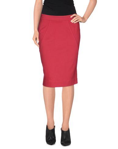 MOSCHINO CHEAP & CHIC Knee Length Skirt in Fuchsia