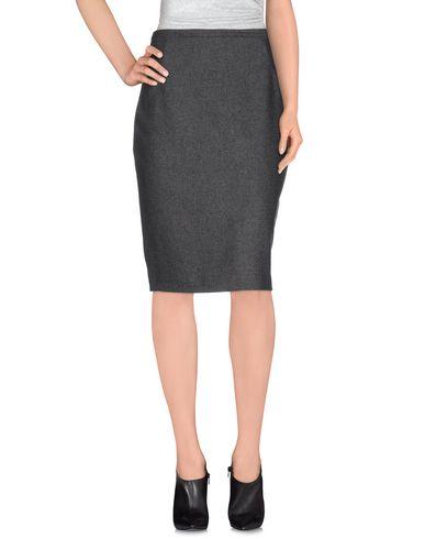 MAURIZIO PECORARO Knee Length Skirt in Grey