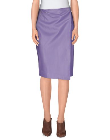 PEDRO DEL HIERRO MADRID Knee Length Skirt in Lilac
