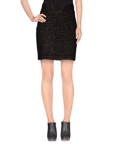 PEDRO DEL HIERRO Knee Length Skirt in Dark Brown