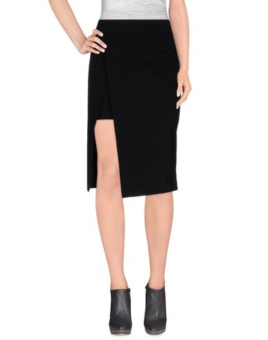 MASON Midi Skirts in Black