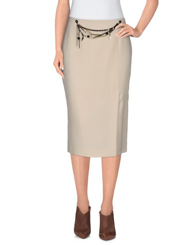 MOSCHINO CHEAP & CHIC Midi Skirts in Ivory