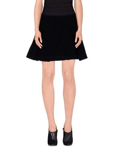 SACAI LUCK Mini Skirt in Dark Blue