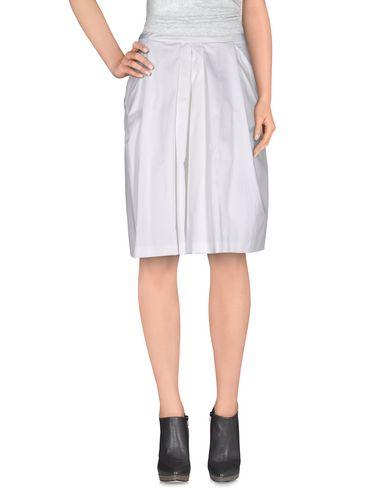TRU TRUSSARDI Knee Length Skirt in White