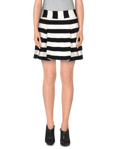 AGAIN Mini Skirt in Black