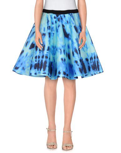 DE TOMASO Knee Length Skirt in Turquoise