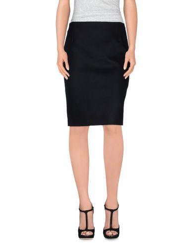 BOUCHRA JARRAR Knee Length Skirt in Black