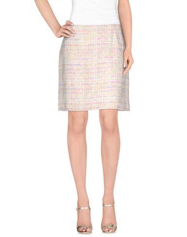 EDWARD ACHOUR Knee Length Skirt in Beige