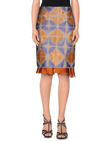MAURIZIO PECORARO Knee Length Skirt in Mauve