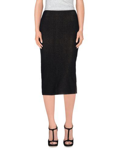 DAGMAR Midi Skirts in Black