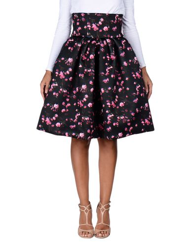 IO COUTURE Knee Length Skirt in Black