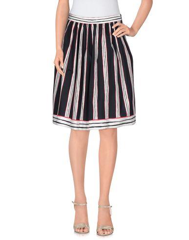 Boutique Moschino Knee Length Skirt, Dark Blue