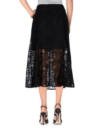 Mcq By Alexander Mcqueen 3/4 Length Skirt, Black