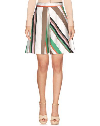 Msgm Knee Length Skirt, White