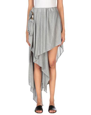ANTHONY VACCARELLO Mini Skirt in Light Grey