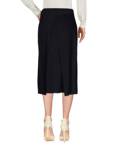 HELMUT LANG 3/4 LENGTH SKIRT, DARK BLUE