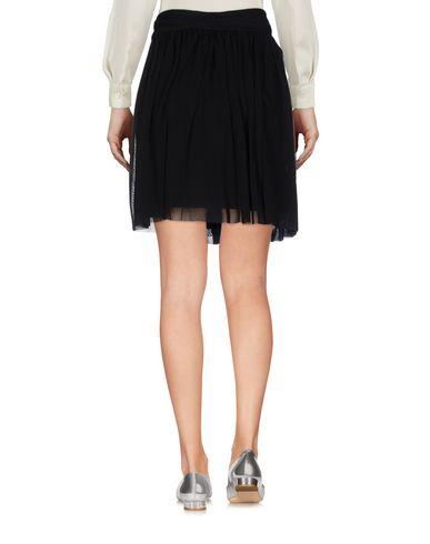 Fuzzi Mini Skirt, Black