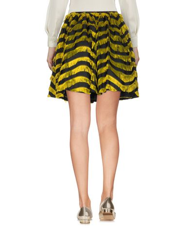 Red Valentino Knee Length Skirt, Yellow