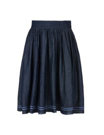 8 - Knee length skirt