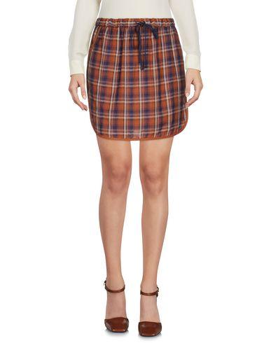 YERSE Mini Skirt in Brown