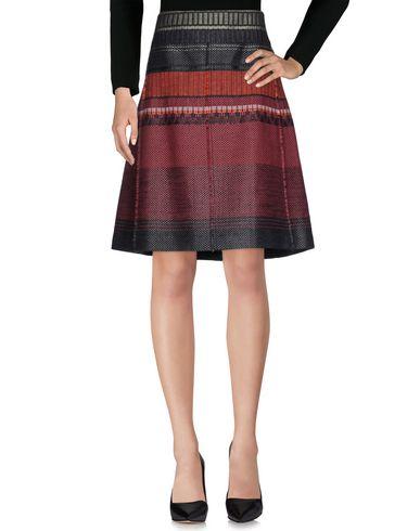 STILLS Knee Length Skirt in Maroon