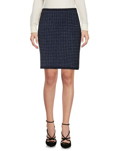 VICEDOMINI Knee Length Skirt in Lead