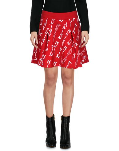 ADIDAS ORIGINALS BY PHARRELL WILLIAMS Mini Skirt in Red