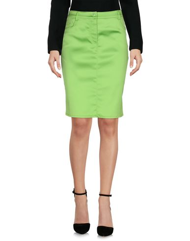 MOSCHINO CHEAP AND CHIC Knee Length Skirt in Light Green