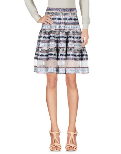 ALEXANDER MCQUEEN - Knee length skirt