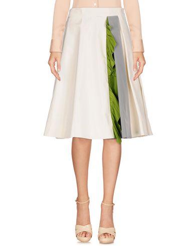 detailed look 3126c 557c2 PRADA Knee length skirt - Skirts | YOOX.COM