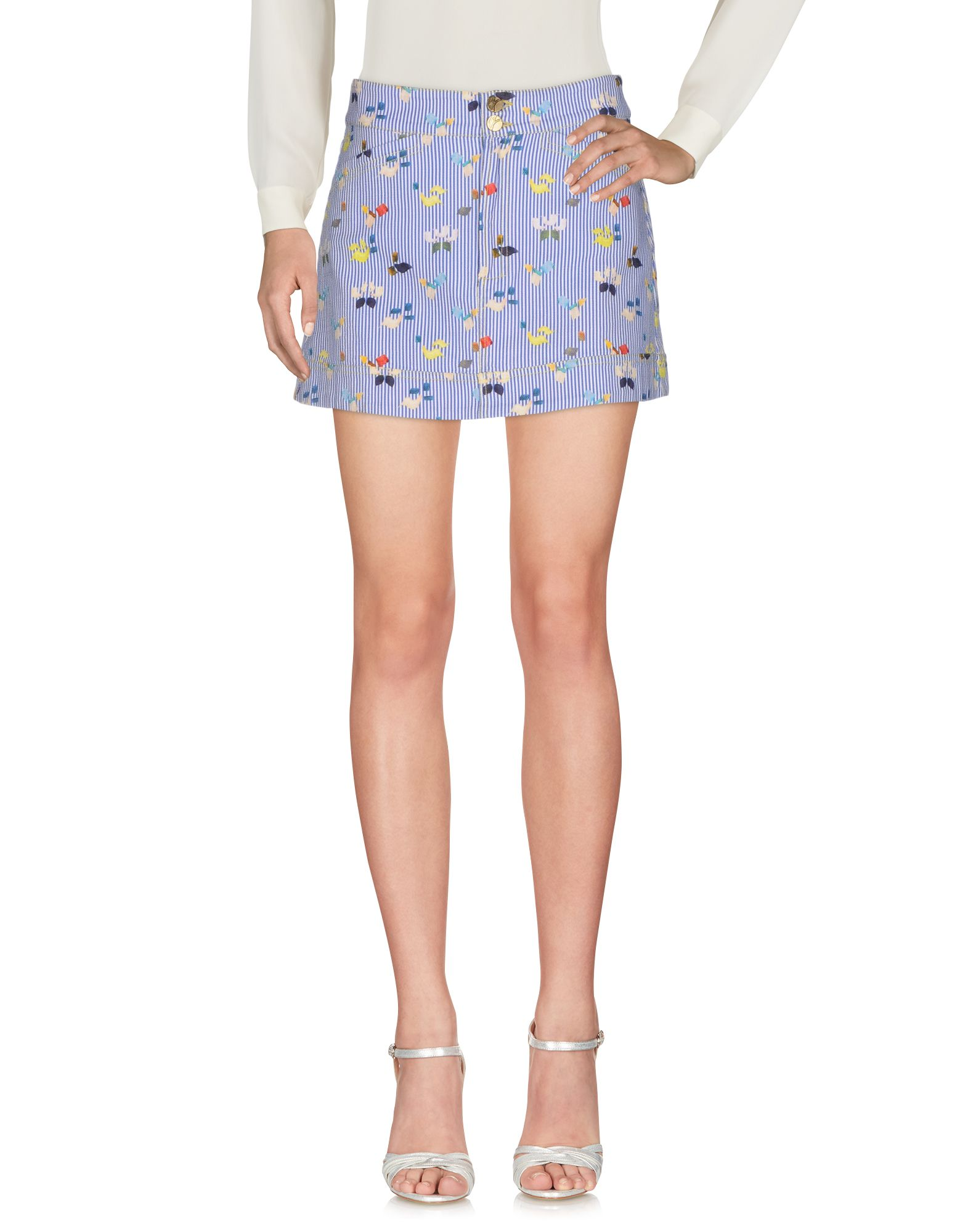 b086ff1442 Manila Grace Denim Mini Skirt - Women Manila Grace Denim Mini Skirts ...