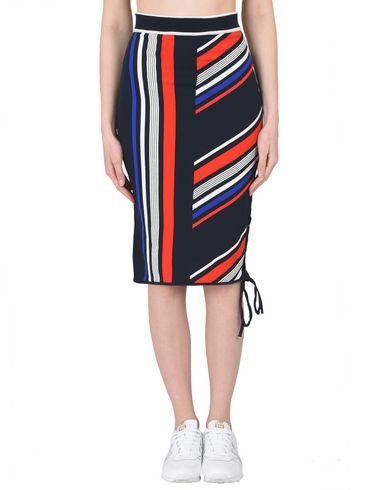 693cc1dbb1 Tommy Hilfiger X Gigi Hadid Gigi Hadid Intarsia Skirt - 3 4 Length ...