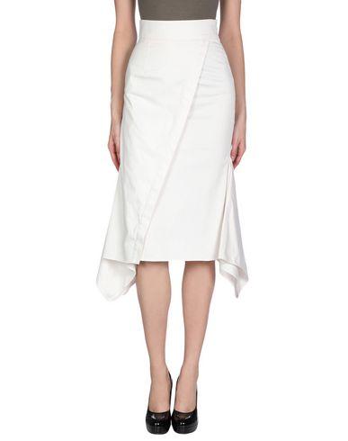 SID NEIGUM Midi Skirts in White