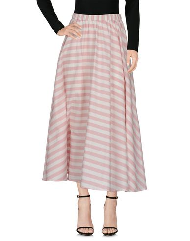 ALCOOLIQUE Maxi Skirts in Pink