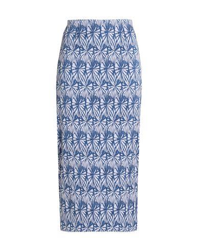 WES GORDON Midi Skirts in Slate Blue