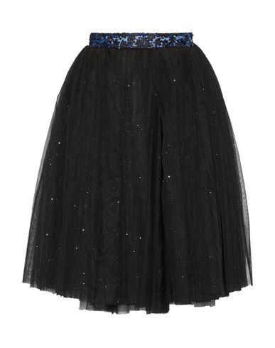 RYAN LO Knee Length Skirt in Black