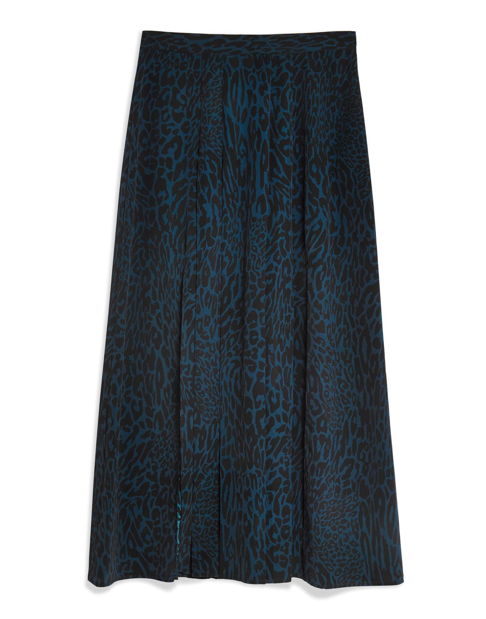 080a29835c15 Topshop Leopard Print Box Pleat Midi Skirt - Midi Skirts - Women Topshop  Midi Skirts online on YOOX United States - 35405670KW