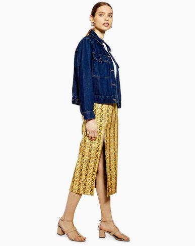 bc80e8e72 Topshop Snake Pu Midi Skirt - Midi Skirts - Women Topshop Midi Skirts  online Women Clothing