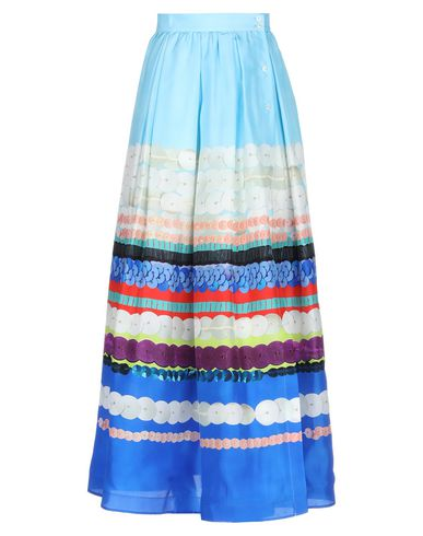 Sara Roka Maxi Skirts In Sky Blue