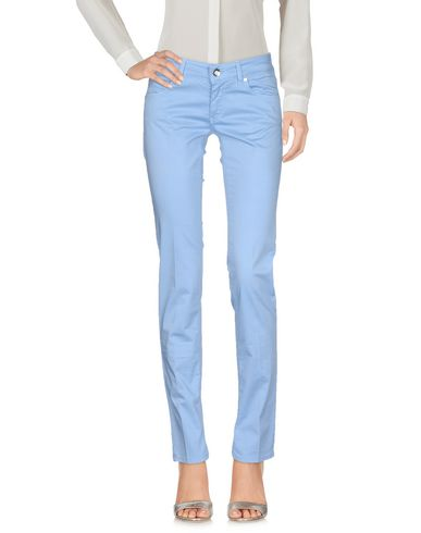 Entre Amis Casual Pants In Sky Blue  f16ad79074e