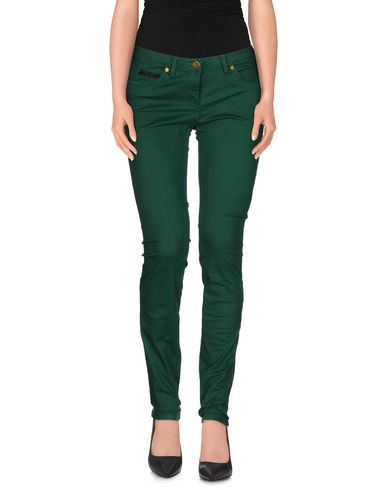 MAISON SCOTCH Casual Pants in Emerald Green