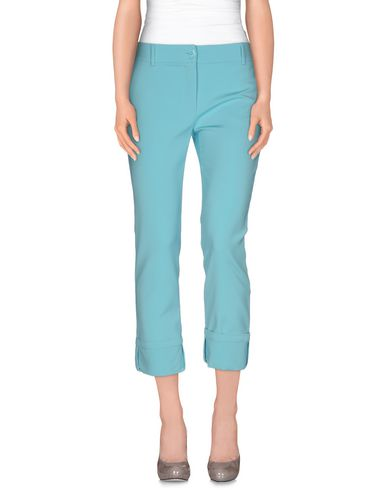 CLASS ROBERTO CAVALLI Casual Pants in Turquoise
