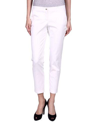 TRU TRUSSARDI Casual Pants in White